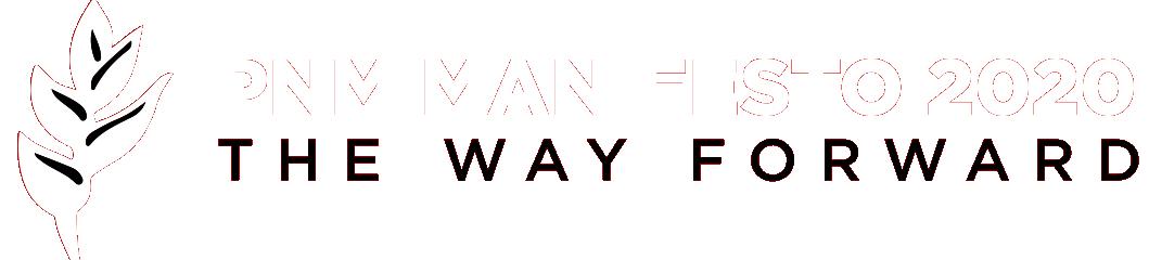 PNM Manifesto 2020 - The Way Forward
